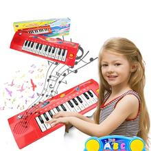 Baby Toys Musical Piano Electronic Organ Simulation 8 Sound Piano Kids Instrument Infant Toddler Developmental Toy Free Shipping