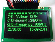 NoEnName_Null 2.4 inch 8bit SPI I2C 20PIN Blue OLED LCD Module SSD1305 Drive IC 128*64(China)