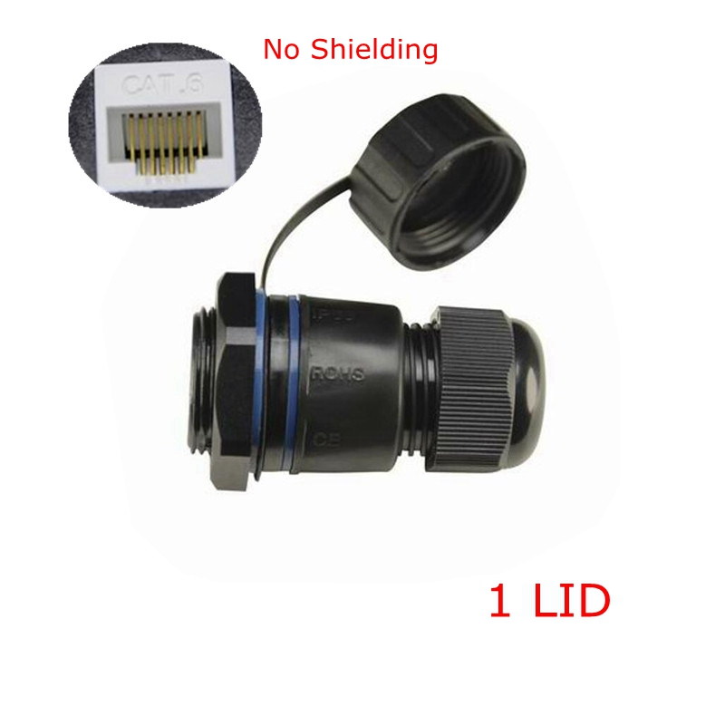 Computer & Office Shielded M25 Rj45 Cat 5e Gigabit Ethernet Waterproof Connector Plug Rj 45 Ap Outdoor Ip Camera Ip68 Water Proof Cable 25cm