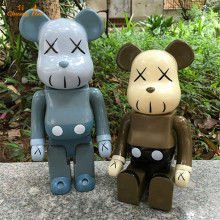 VOGUE Art Toys Kaws OriginalFake Bearbrick Garage kit Model Decoration Action Figure Collectible Model Toy  400% DE82