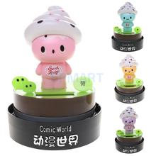 1 piece Cute Solar Powered Dancing Doll Home Desk Office Car Ornament great Toy Gift for kids