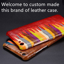 NC10 genuine leather hard cover for Asus Zenfone AR ZS571KL phone case for Asus Zenfone AR leather case free shipping(China)