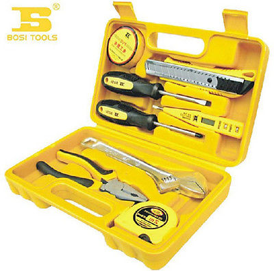 Convenient Family Kept Convenient Manual Tools 8Pcs Home Owners Tool Set<br>