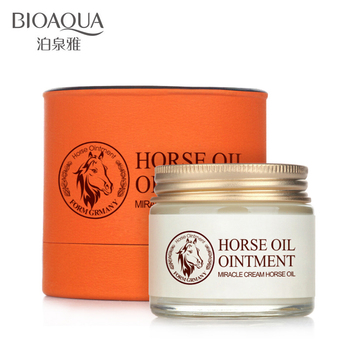 Bioaqua лошадь масло крем против старения крем шрам лицо отбеливающий крем для тела нестареющего корейский косметический уход за кожей отбеливание увлажняющий маска маски Мазь крем от акне Скраб для лица