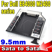 "New SATA 3.0 to sata Case 9.5mm External SSD HDD 2nd Caddy 2.5"" Second Hard Disk Driver Sata to Sata Enclosure for Dell Series"