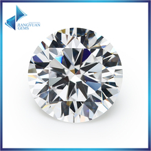 20pcs 8~16mm Big Size Round Machine Cut Cubic Zirconia Loose Stones Sample Synthetic Gems Beads For Jewelry(China)