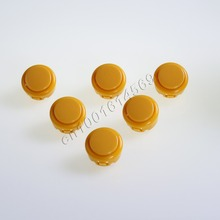 6 pcs/Lot Reyann Arcade Button Perfect Replace SANWA Buttons OBSF-30 OBSN-30 OBSC-30 Push Button & Mini Table Top Arcade Machine(China)
