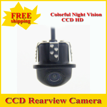 Factory Promotion CCD HD night vision 170 degree car rear view camera parking camera reversing backup camera Free Shipping