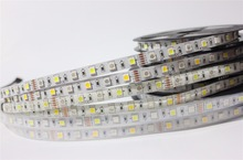 5M RGB RGBW 5050 LED strip Light Waterproof IP20/65/67 DC12V SMD 60Leds/M 300 LEDS Flexible Bar Light strips RGB + White/WW