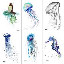 Popular Jellyfish Tattoo Buy Cheap Jellyfish Tattoo Lots From China