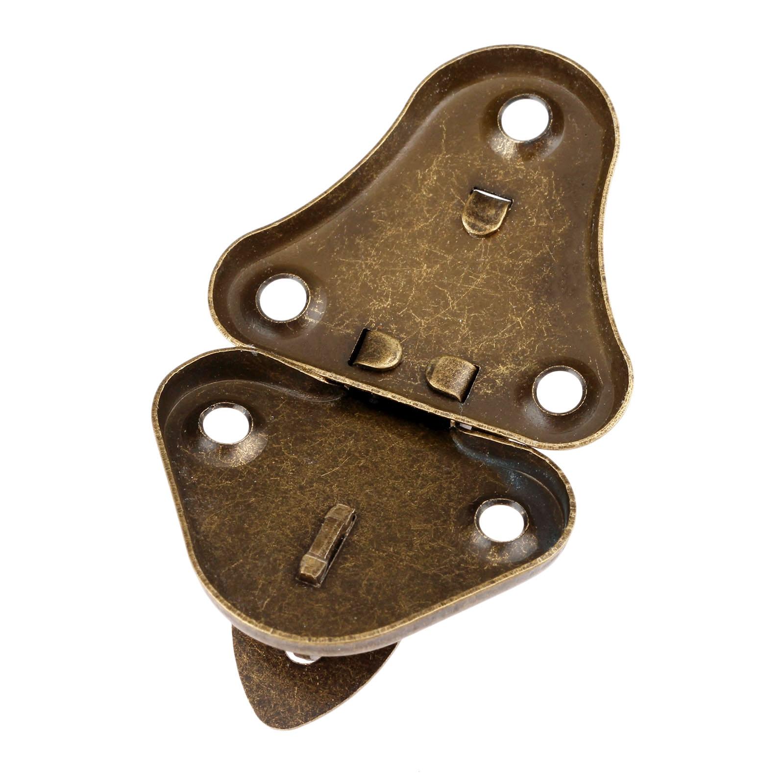 60mm Dia Toggle Latch Catch Trunk Lock Bronze Tone 2PCS for Chest Case Gift Box