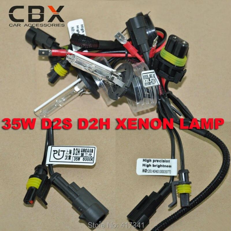 35W 12V High Precision High Brightness HID Xenon Bulb D2H 2pcs/lot for Bi-xenon Projector Lens Koito Q5 Hella Headlight Replace<br><br>Aliexpress