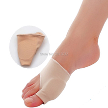 Stretch Nylon Great Toe Cyst Foot Care Tool , Hallux Valgus Guard Cushion Bunion Toe Separator(China)