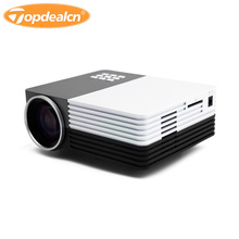 3D Mini LED TV Projector Home Theater Laser Beamer SD/HDMI/VGA/AV/USB Power Bank Full HD Video Projector 1080p proyector GM-50
