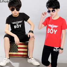 Children's Suit 2017 New Summer Children's Boy Short Sleeved  Boys Clothes Children Clothing Baby Boy Clothes Kids Clothes