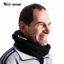WEST BIKING Cycling Neckerchief Connecting Hat Warm Face Mask Winter Tube Neck Scarf Bicycle Skiing MTB Bikes Cycling Scarf Caps(China)
