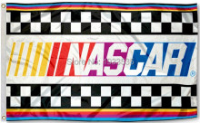 NASCAR 3x5 Foot Outdoor banner Flag