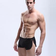 Men Ventilation Sexy Comfy Shorts Boxer Underpants Underwear High Quality Home Sleepwear Underpants New(China)