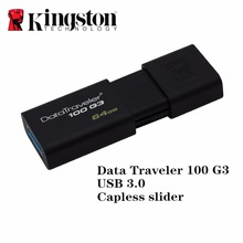 Kingston usb 3.0 flash pen drive pendrive stick 16gb 32gb 64gb 128gb brand memoria mini usb pen-drive caneta memory stick drive
