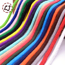 Wholesale 5mm colorful high strength Handmade Woven Cotton Cords Rope for garment sewing Accessories Craft Projects home DIY
