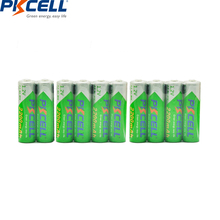 10pcs PKCELL  AA battery 1.2v 2200mah NIMH rechargeable batteries low self diacharge lsd for toy car ,MP3/MP4 player,toothbrush