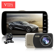 4.0 inch IPS dual lens car camera auto dvr camcorder cars dvrs carcam dash cam full hd 1080p parking recorder video registrator