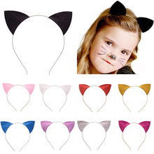 Stylish Girls Cat Ears Headband Hairband Sexy Self Photo Prop Hair Band Accessories Headwear Party #86089