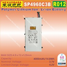 [ SP4960C3B ] 3.7V 4000mAh Li - Polymer lithium ion Mobile / TABLET PC battery fit for Samsung Galaxy TAB P6200 P3100 P3110(China)