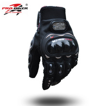 Probiker guantes motorcycle racing gloves luvas motociclismo luvas de moto luva moto motocross gloves knight motorbike gloves(China)