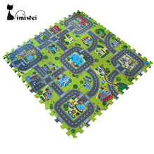 IMIWEI Baby Crawling Mat Baby Carpet Developing Mat Mat For Children Baby Toy Game Kids Rug Baby Toys Puzzle EVA Foam Play Rugs(China)