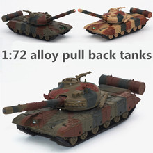 1:72 alloy pull back tanks ,high simulation T72 tank camouflage  model ,metal casting,toy tanks,musical & flashing,free shipping