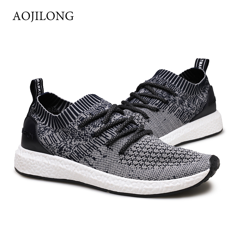High Quality 2017 Men Casual Shoes Breathable Lace Up Black Jorda Shoes Mesh Flat Shoes Jogging Trainers Superstar Zapatillas<br><br>Aliexpress