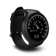 Fashion I4 GPS 3G Smart Watch Support SIM Card WiFi Video GPS Location Heart Rate Monitor Android 5.1 Bluetooth Smart Watch(China)