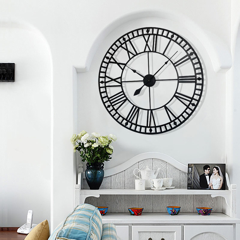 big clock wall mirror wall clock (1)