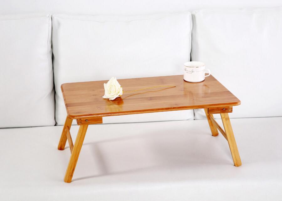 Мода портативный деревянный офис дивана-кровати стола для ноутбука сворачивания выдерживает компьютерный стол стола S31D5
