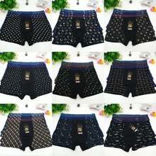 Hot! 3 Pcs Mens Boxer Underwear Shorts Brand Boxers Hombre Panties Under Short Printed Mulit 3 Pieces Lot Plus Size XXL - 7XL