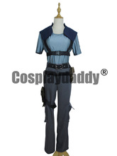 Resident Evil Costumes Newest Jill Valentine Cosplay Costume(China)