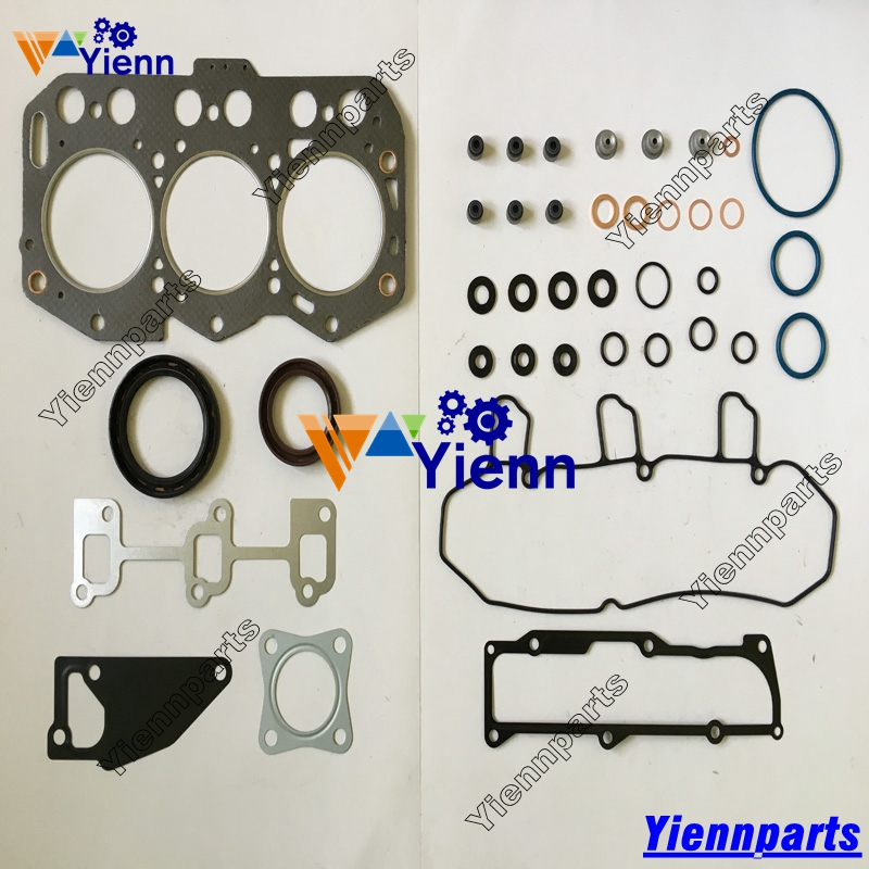 Yanmar 3GM30 Full engine cylinder head gasket kit For marine boat
