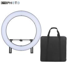 Russia Freeshipping DVR-512DVC LED Ring Light Video Camera Photography Studio Outdoor Fill-in Lamp CRI90+ 3200K-5600K