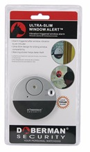 Security Door Window Vibration Alarm for Warning Burglars Intruders Home Alert Long Distance 100dB Strong Alarm Sound