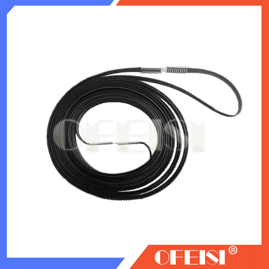 Free shipping Q1253-60066 C6095-60183 Q1253-60021 DesignJet 5000 5000PS 5000UV 5500 60-inch Carriage belt Compatible New