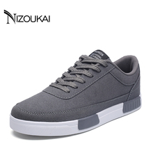 New Arrival Spring Summer Comfortable Men Casual Shoes Lace-Up Brand Fashion Flat Loafers Shoes Men Sneakers(China)