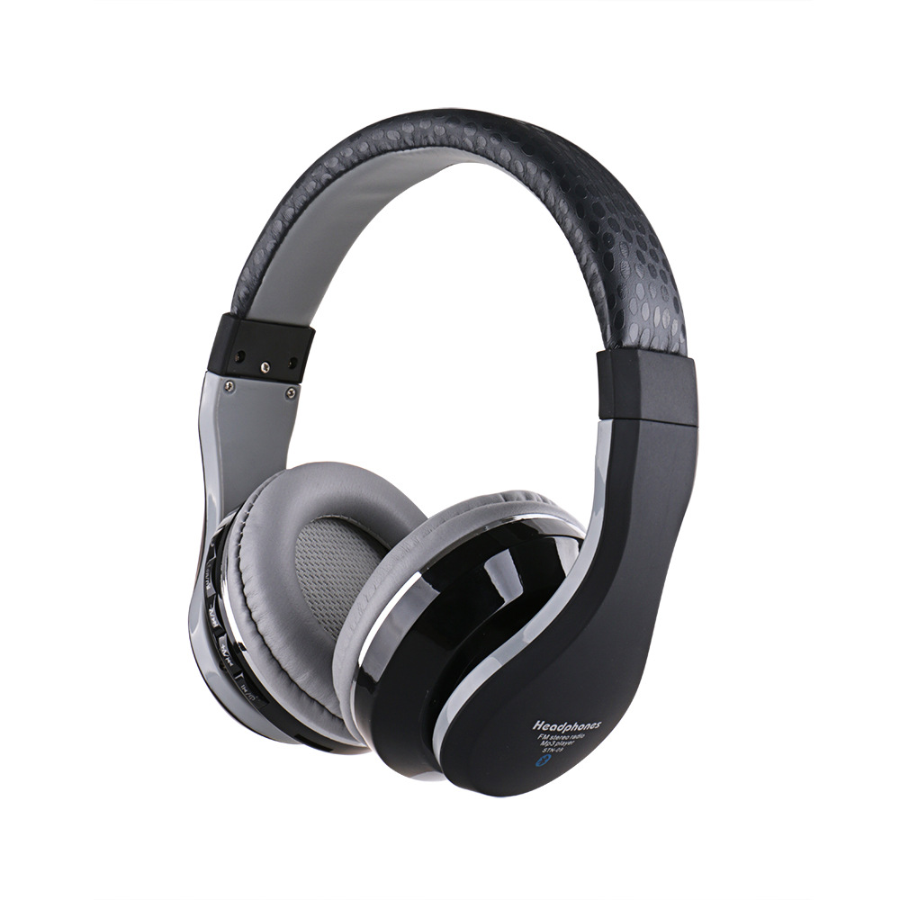 New Wireless Bluetooth Headphones Music Stereo Surround Headset Earphones with Mic for Xiaomi MI5 MP3 MP4 PC Laptop<br><br>Aliexpress
