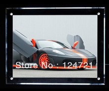 A2 Size Acrylic LED Poster Frames Slim Crystal Light Box