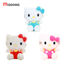 20cm KT cat doll Hello Kitty Plush Doll birthday gift wholesale plush toys free shipping