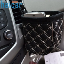 Multipurpose Easy Car Outlet Compartment Bucket Car Pouch Cars storage bag organizer  IUT6531 DROP SHIP