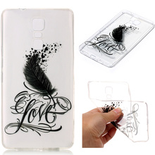 For Infinix Note 3 X601 Feather TPU Jelly case Dream Catcher Soft TPU Case For Infinix Hot 4 X557