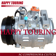 New 10P30C AC Compressor for Toyota Coaster BUS 5PK 447220-0394 5PK 24V Coaster air conditioning compresssor(China)