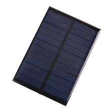 Portable Solar Cells Battery Phone charger 6V 0.6W Solar Power Panel Module DIY Small Cell Charger For Light Battery Phone Toy