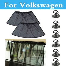 Buy Car Curtain Sun Uv Protection Mesh Fabric/Suction Cup/Windows Volkswagen Beetle Bora Eos Fox Golf GTI Golf Plus Golf R for $5.90 in AliExpress store